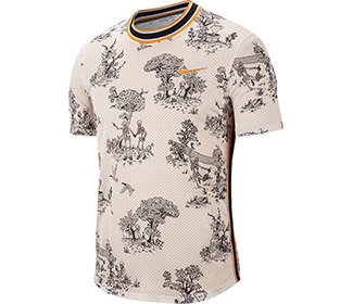 Nike Court Challenger Printed Top (M)