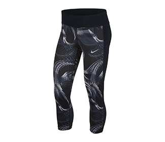 Nike Power Crop Racer Print (W)